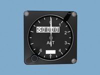 altimeter alt 3d model