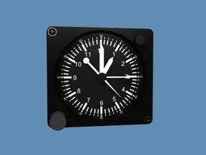 3dsmax clock