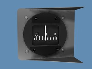 3d compass model