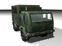 fmtv trucks 3d model