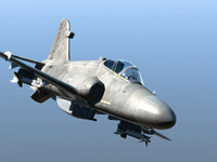 british aerospace hawk 3d model
