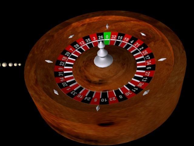 3d roulette roulet model