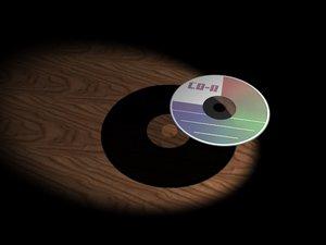 3d model cd disk