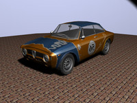 alfa romeo gta car racing 3d 3ds