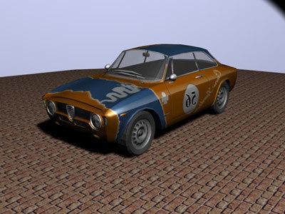 alfa romeo gta car racing 3d 3ds
