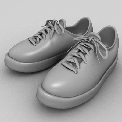 3d model sneakers shoes