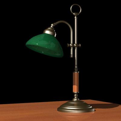 3d lamp ministerial model