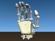 android hand 3d model