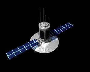 simple satelite 3d model