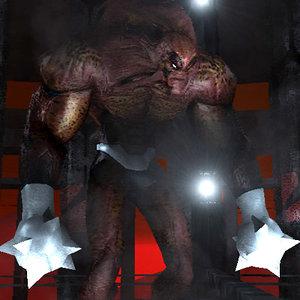 demonic monster 3d model
