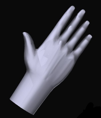 free hand 3d model