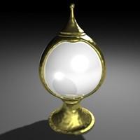 fantasy orb light 3d max