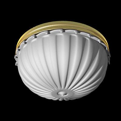 3d crystalglass lamp light