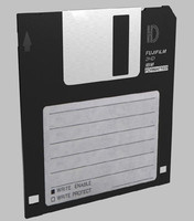 3ds max floppy disk disquette