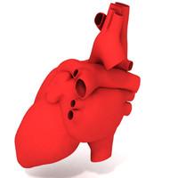 baby heart 3d model