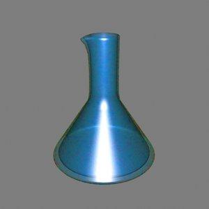 3ds max laboratory beaker