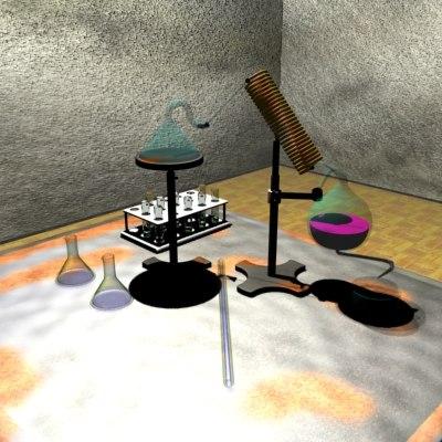 free lab 3d model