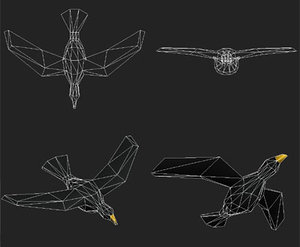 bird particle systems 3ds