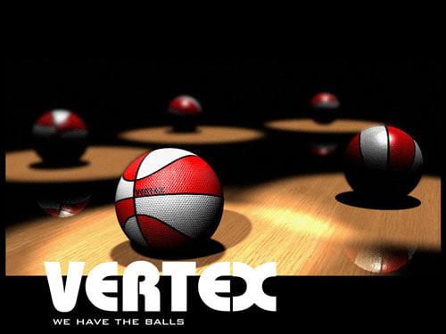 3d model basket balls