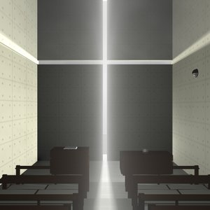 3d 3ds tadao ando church