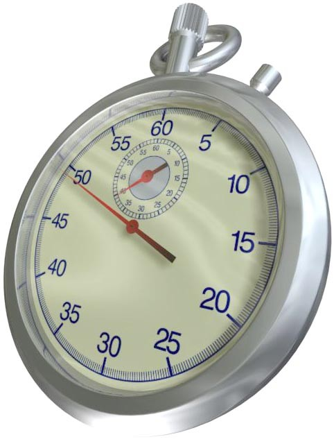 3d watch stop model