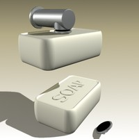 vola soap magnet 3d model