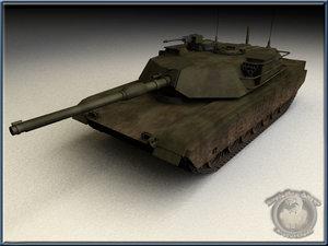 lightwave m1a1 tank