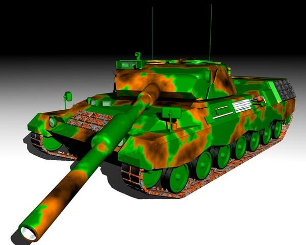 free leo 3d model