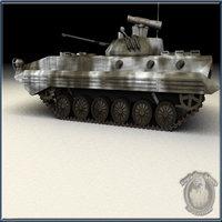 russian bmp2 3d model
