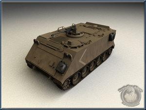 m113 apc 3d model