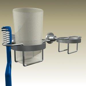vola toothbrush holder 3d model