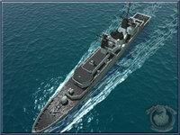 3d navy frigate model