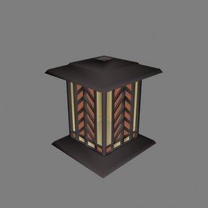 3ds max byzantine garden lantern