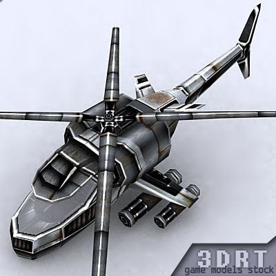 3d max helicopter heli
