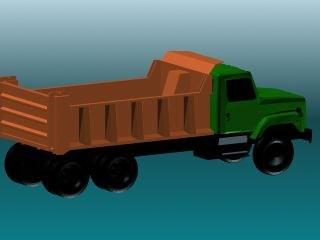 3d camion model