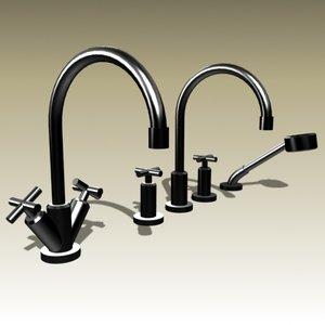dornbracht faucets 3d model