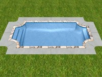 maya grecian swimming pool