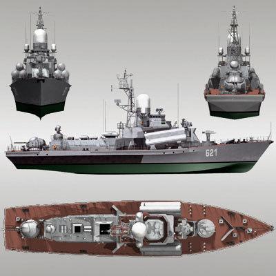 nanuchka class 1234 3d model