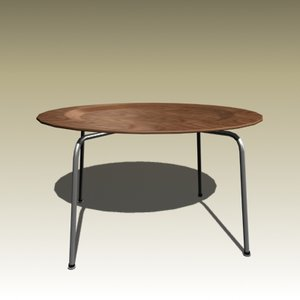 3d charles eames table