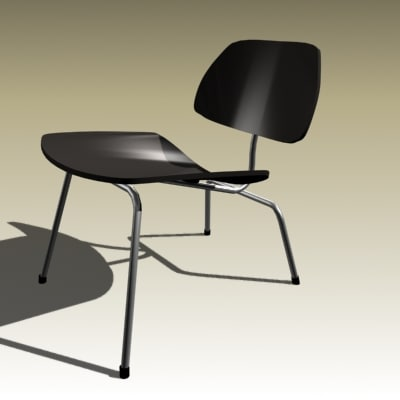 charles eames chair 3d 3ds