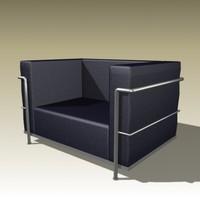 3d model of le corbusier 3