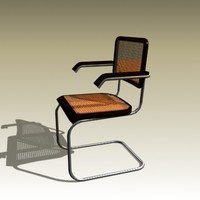 3d model marcel breuer cesca chair