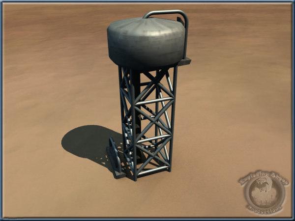 lwo desert water-tower