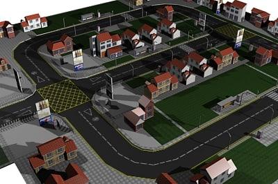 maya residential city 01
