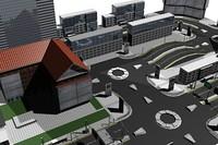 3d commercial city 01
