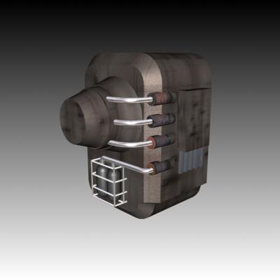3d block model