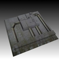 3d model block
