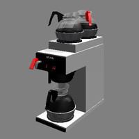 3d bunn coffee maker model