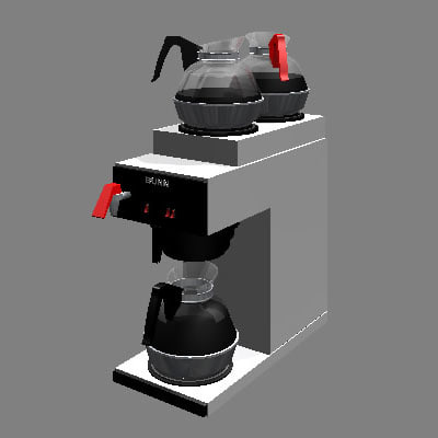 3d bunn coffee maker model