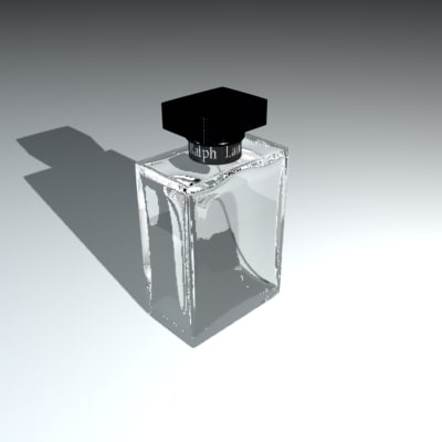 cologne bottle ralph lauren 3d model